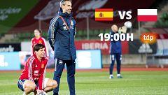 España cierra fase contra Polonia