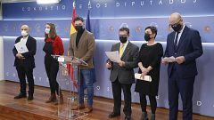 """Los independentistas 'plantan' al rey y reclaman """"la ruptura con régimen del 78"""" en un acto de rechazo a la conmemoración del 23F"""