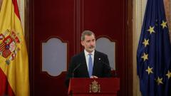 """Felipe VI ensalza la """"firmeza"""" de Juan Carlos I en el 23F"""