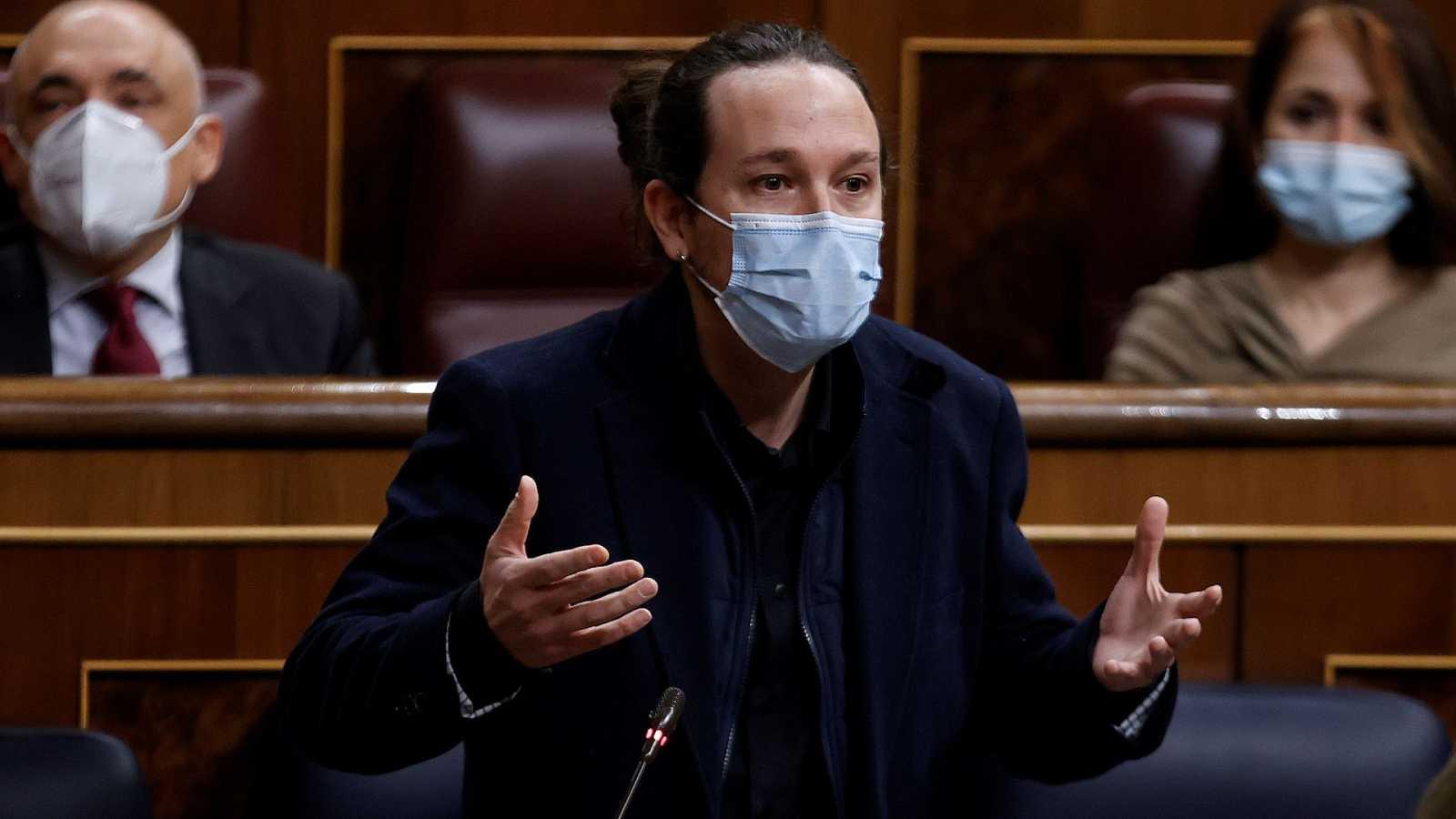 """Iglesias advierte al PSOE que """"es un error tensionar el gobierno"""" al """"incumplir"""" los acuerdos"""