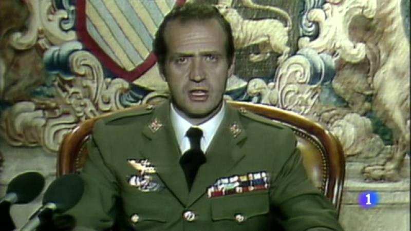 El Rei presideix la commemoració del 40 aniversari de l'intent de cop d'Estat del 23-F