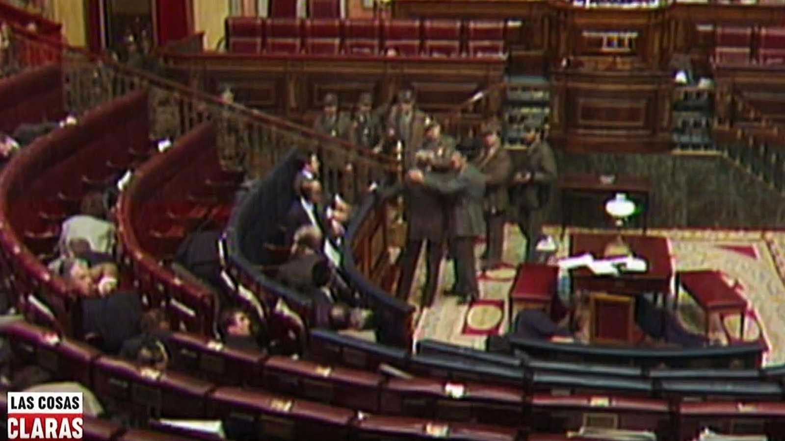 Los testimonios del golpe del 23F