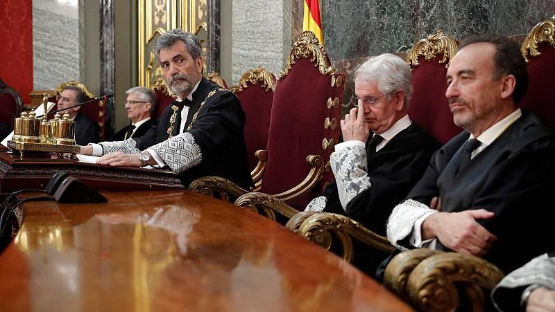 """María Jesús Montero: """"Ojalá la renovación de los órganos judiciales cuente con el mayor consenso posible"""""""