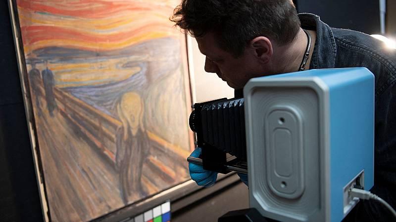 La enigmática frase que Munch escondió en 'El grito'