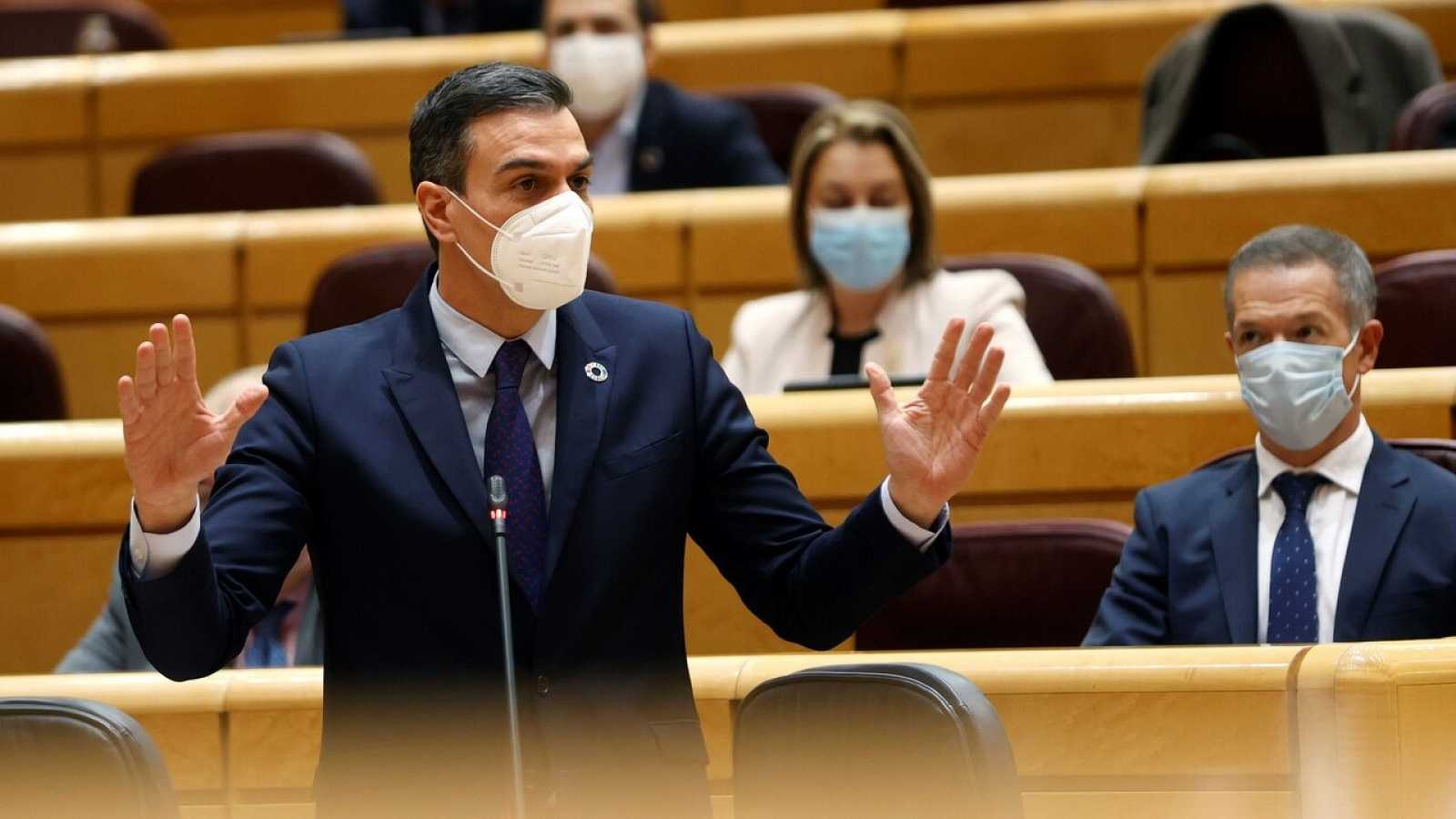 """Sánchez, satisfecho con el primer año del Gobierno de coalición: """"Nos unen más cosas de las que nos separan"""""""