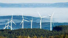 Intervalos de viento fuerte en el litoral oeste de Galicia, noroeste de Navarra y área del Estrecho
