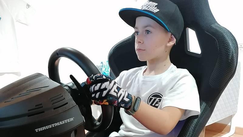 Abel Torres, un prodigio del motor con tan sólo 10 años