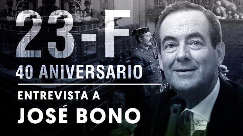 """Entrevista a José Bono: """"Pasé miedo al ver una pistola en la mano de Tejero"""""""