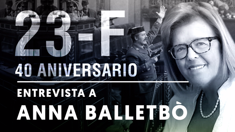 """Entrevista a Anna Balletbò: """"Fui la primera mujer y civil que llamó al Rey para informarle de lo que pasaba"""""""