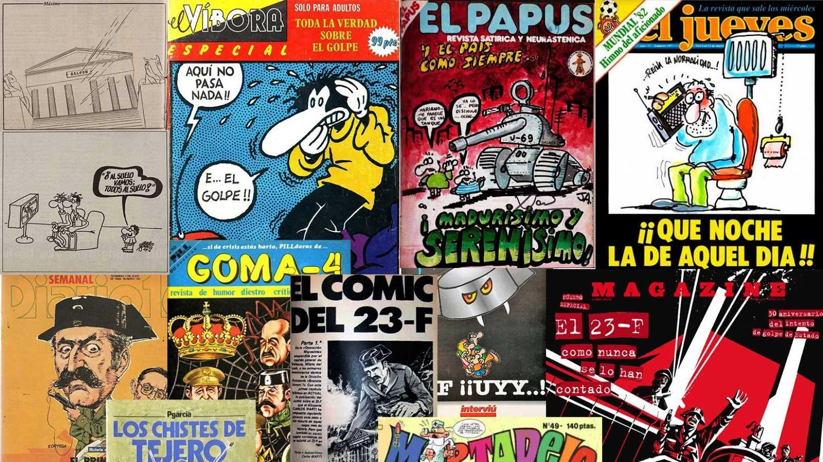 40 años del 23F en viñetas