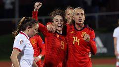 España vence 3-0 a Polonia y termina invicta su camino a la Euro