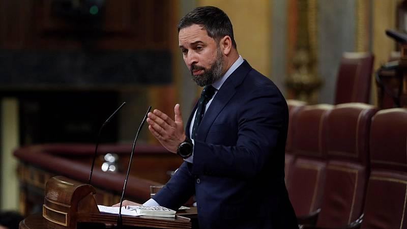"""Abascal acusa a Sánchez de haber """"desprotegido"""" a España y califica de """"caos"""" la gestión de la pandemia"""