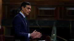"""Sánchez pide unidad para afrontar la crisis y Casado le reclama """"moderación"""": """"Yo ya hice mi parte"""""""