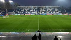 La Champions en Bérgamo, un año después del 'partido cero' de la pandemia