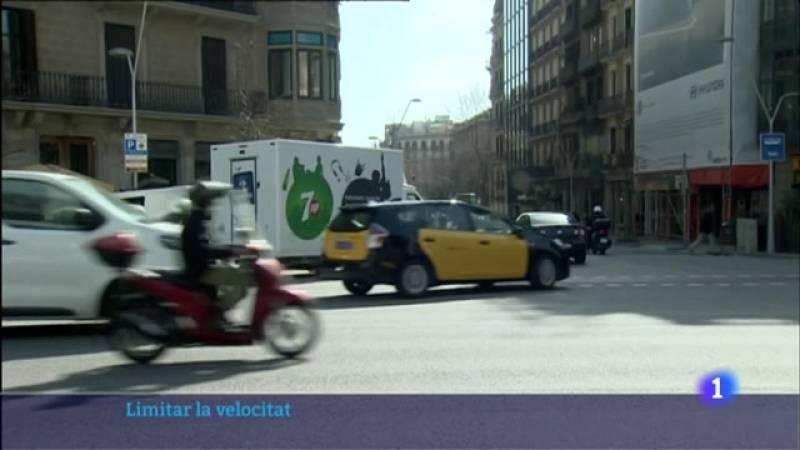 L'ajuntament de Barcelona vol limitar a 30 km/h la velocitat màxima a 3 de cada 4 carrers de la ciutat