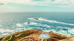Viento fuerte en el litoral gallego y área del Estrecho