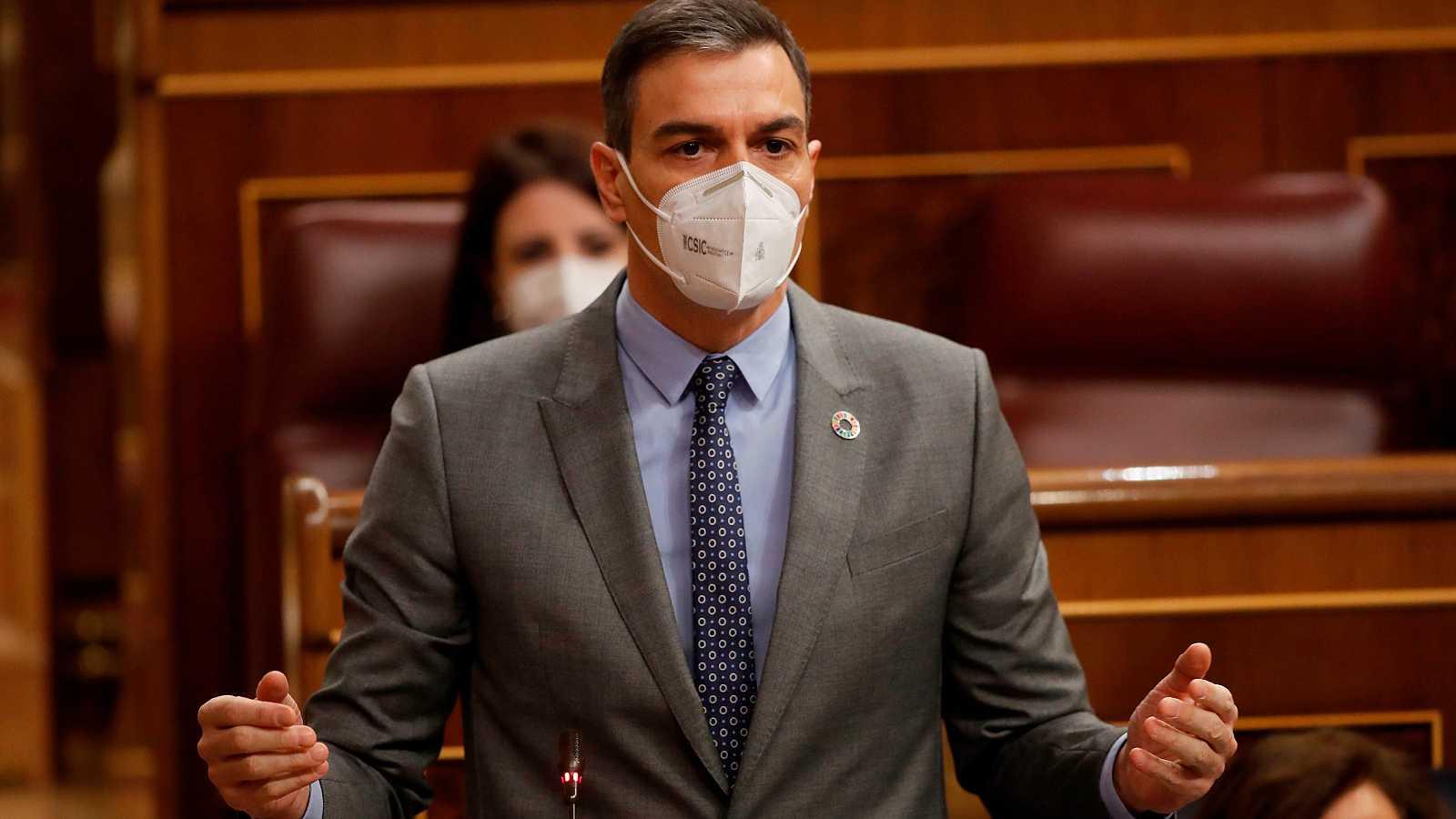 Sánchez anuncia un nou paquet d'ajudes de 11.000 milions d'euros per a empreses i autònoms