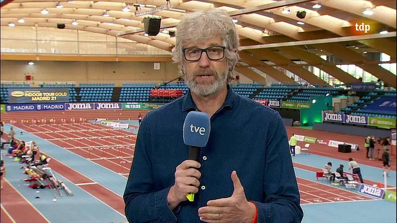 Atletismo - Circuito mundial Indoor 2021. Meeting Villa de Madrid. Previo - ver ahora
