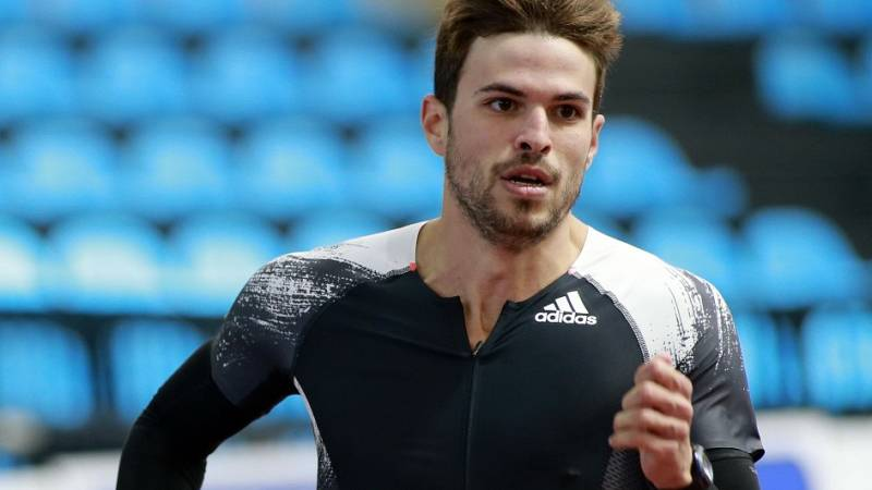 Óscar Husillos, tercero en los 400m de Madrid