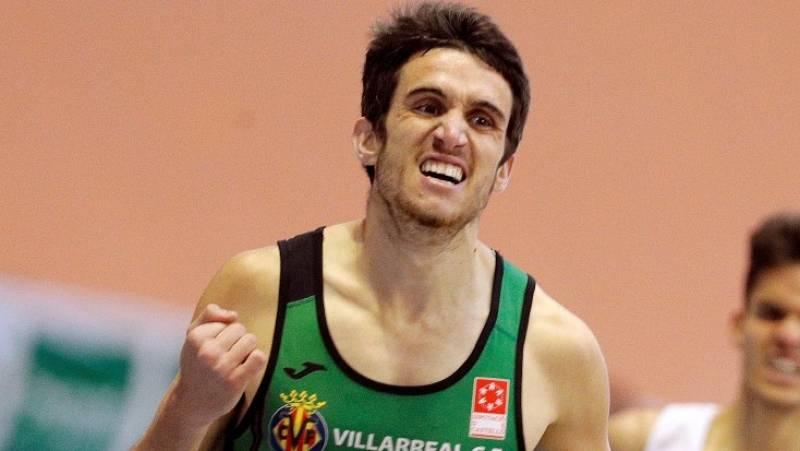 Mariano García gana los 800m del mitin Villa de Madrid