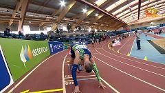 Atletismo - Circuito mundial Indoor 2021. Meeting Villa de Madrid. Pista cubierta