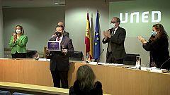 UNED - I Edición Premios Internacionales HERCRITIA-Santander: Hermenéutica en Español: Teresa Oñate & Ángela Sierra - 26/02/21