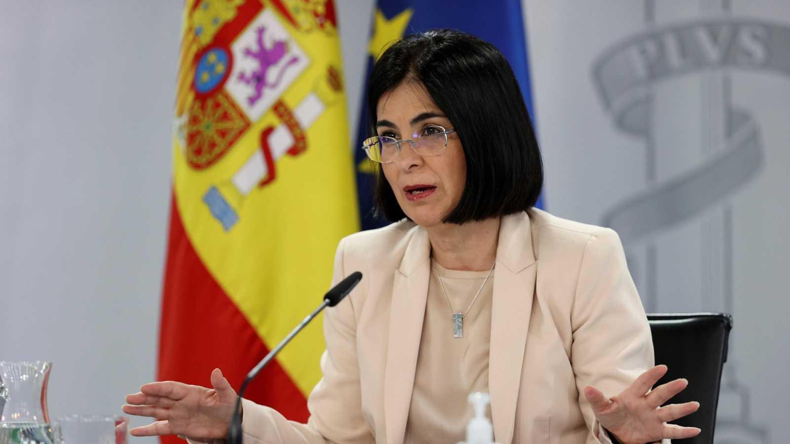 Especial informativo - Comparecencia de la ministra de Sanidad - 24/02/21 - ver ahora