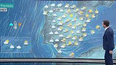 Un frente atlántico dejará cielos nubosos y precipitaciones en el noroeste peninsular y Canarias