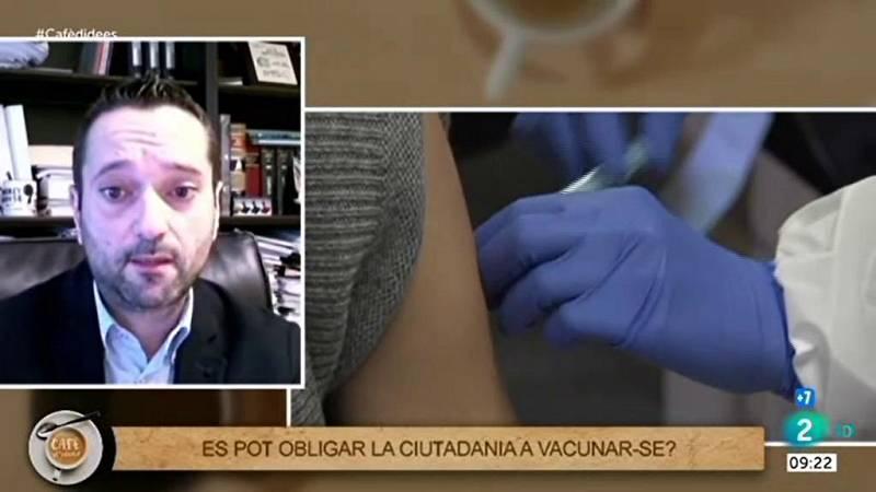 """Alberto Fuentes: """"No imposem l'obligatorietat de la vacuna"""""""