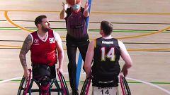 Baloncesto en silla de ruedas - Liga BSR División de honor. Resumen Jornada 13