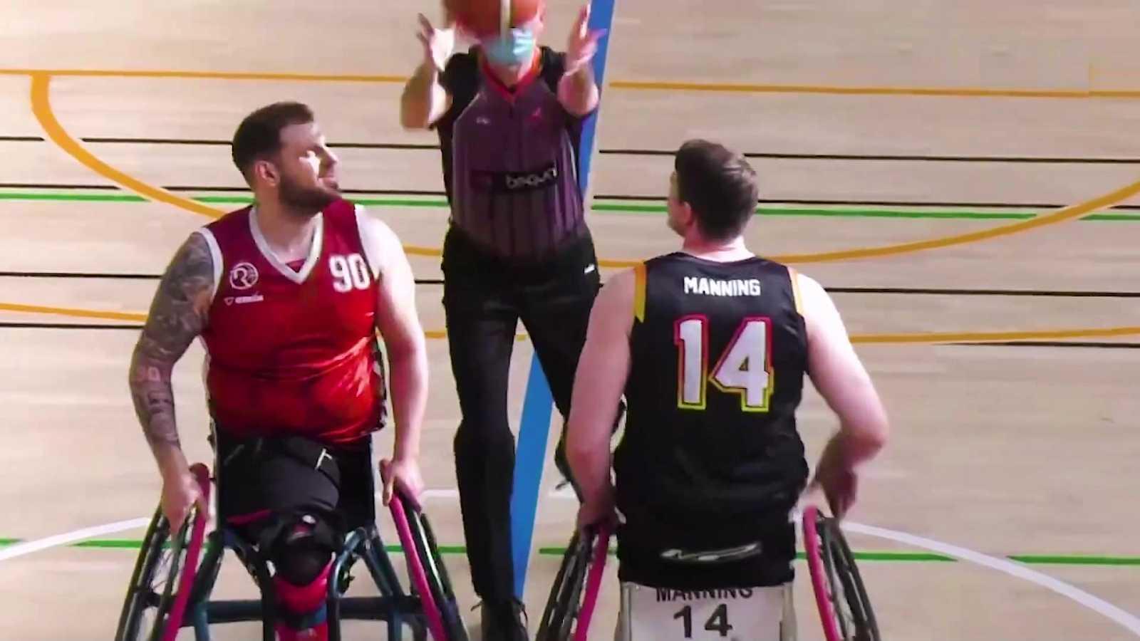 Baloncesto en silla de ruedas - Liga BSR División de honor. Resumen Jornada 13 - ver ahora