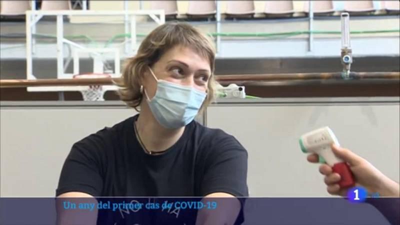Un any que l'Hospital Clínic va rebre la primera pacient contagiada de Covid-19