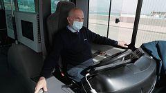 El primer autobús eléctrico sin conductor de Europa ya circula por Málaga
