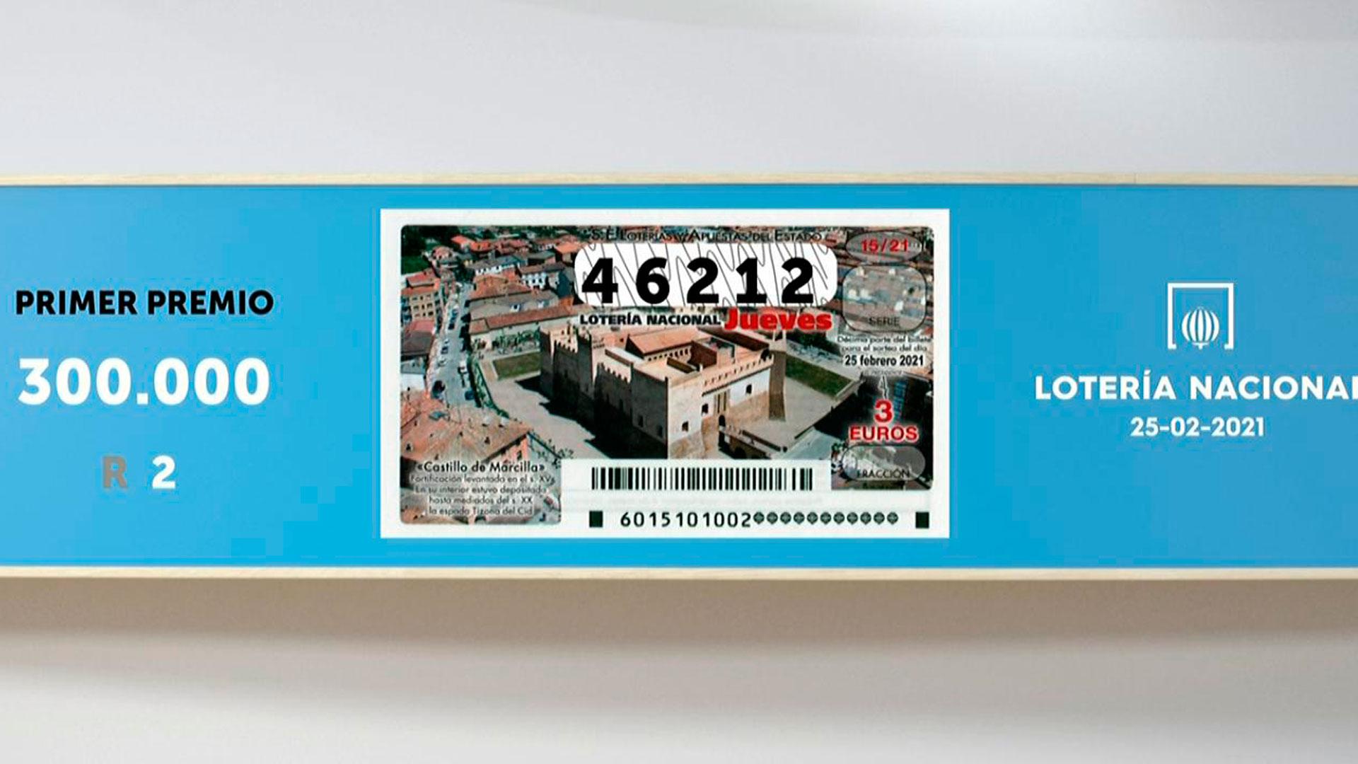 Sorteo De La Lotería Nacional 25 02 2021