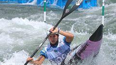 Así es la preparación olímpica de Maialen Chourraut: entre el Cantábrico y el Bidasoa