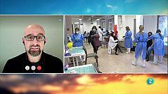 """Salvador Macip: """"Al Regne Unit estan baixant en picat els ingressos hospitalaris amb una sola dosi"""""""