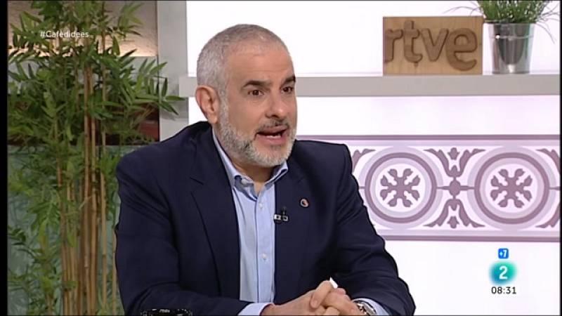 """Carlos Carrizosa: """"Em preocupa més la CUP governant que Vox a l'oposició"""""""