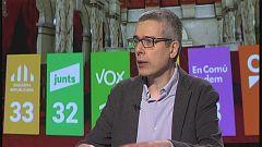 Xavier Torrens, politòleg, sociòleg i professor de Dret a la UB