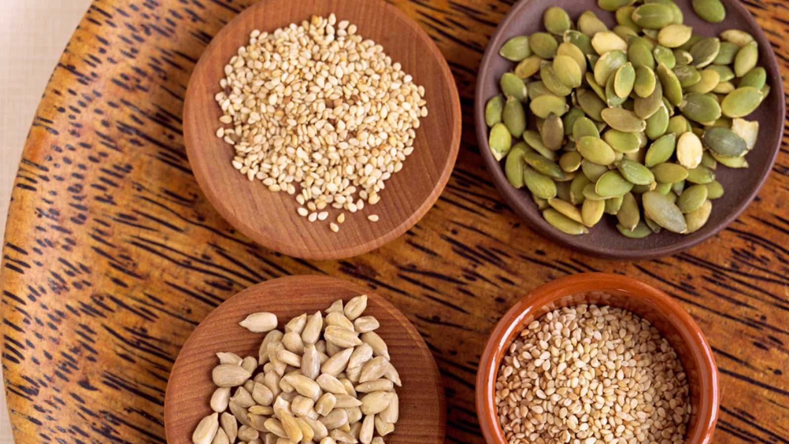 Los nutrientes de las semillas