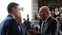 """Sánchez expresa su """"rechazo"""" a la conducta """"incívica"""" del rey emérito"""