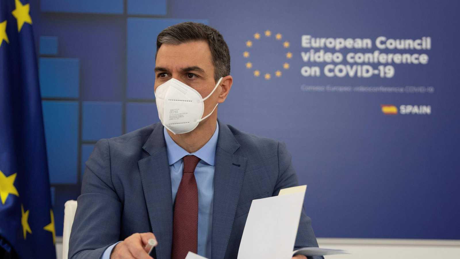 """Sánchez respalda el 'certificado de vacunación' en la UE para """"recuperar el turismo sin aumentar el riesgo sanitario"""""""