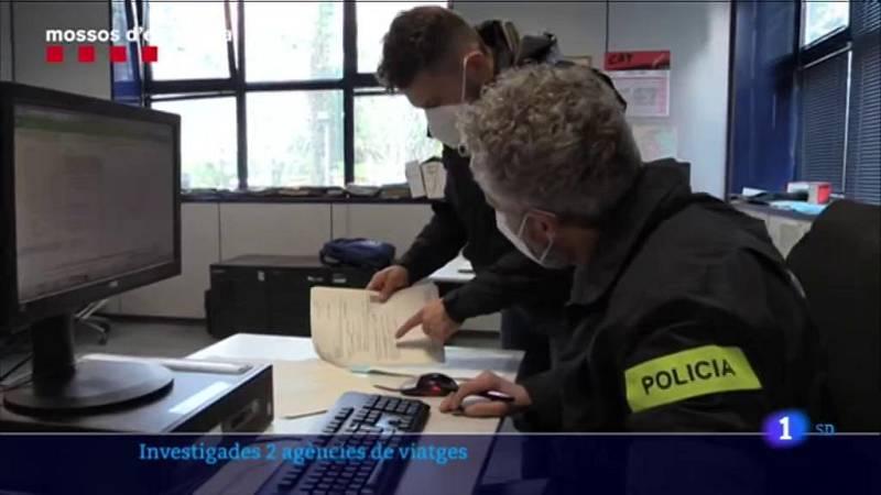 Dues agències de viatges han sigut intervingudes pels Mossos d'Esquadra