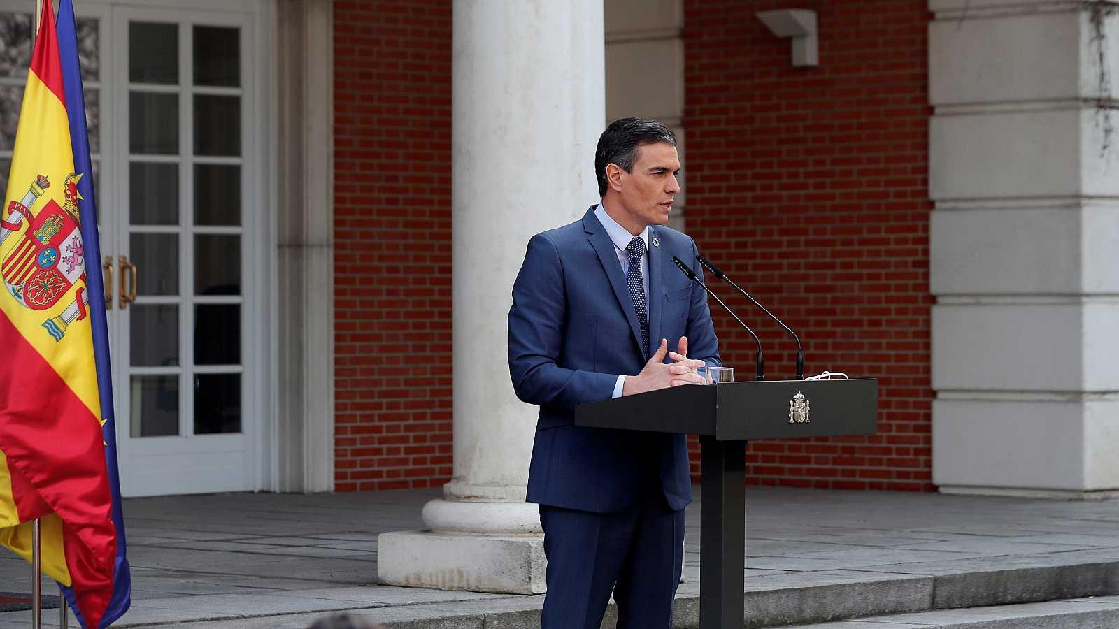 """Sánchez culpa al PP del """"injustificable"""" bloqueo del CGPJ y le pide que """"rectifique"""" y abandone los vetos"""