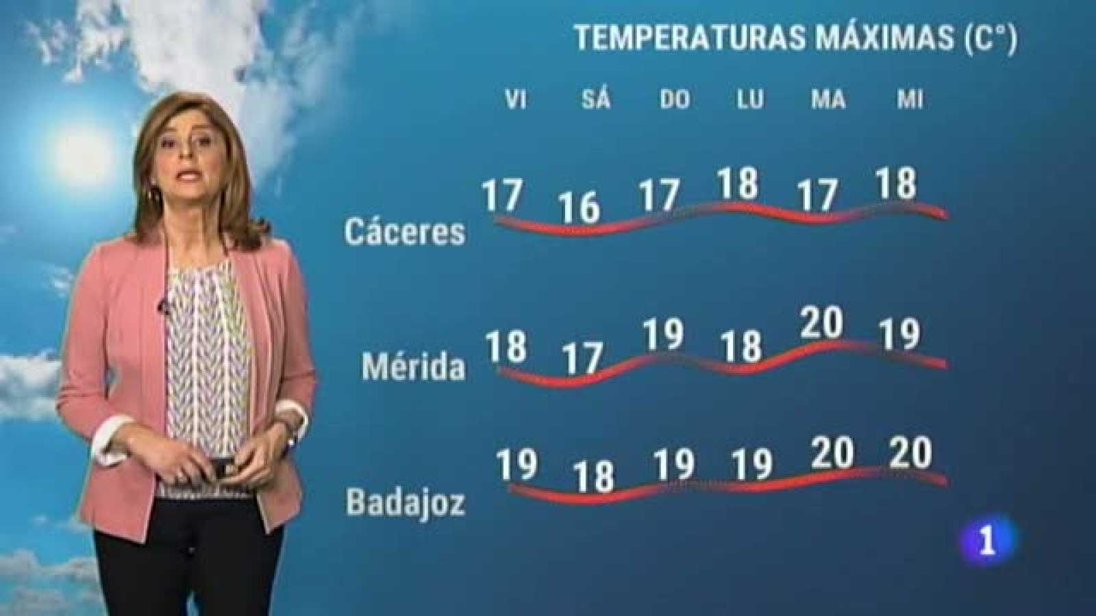 El tiempo en Extremadura - 26/02/2021