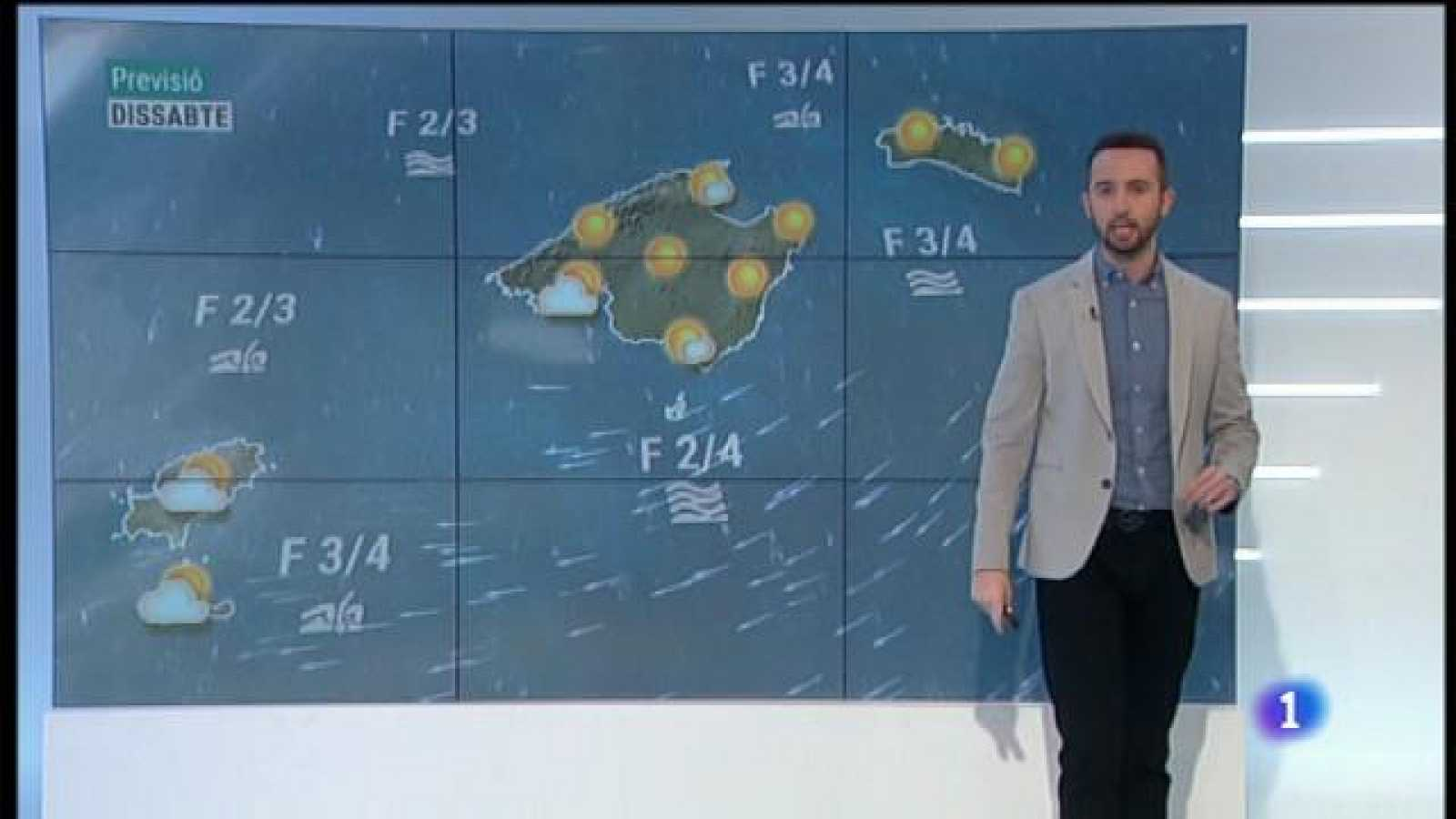 El temps a les Illes Balears - 26/02/21
