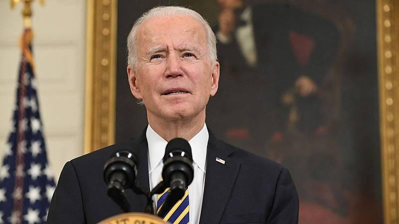 Biden ordena su primer ataque militar contra milicias proiraníes en Siria