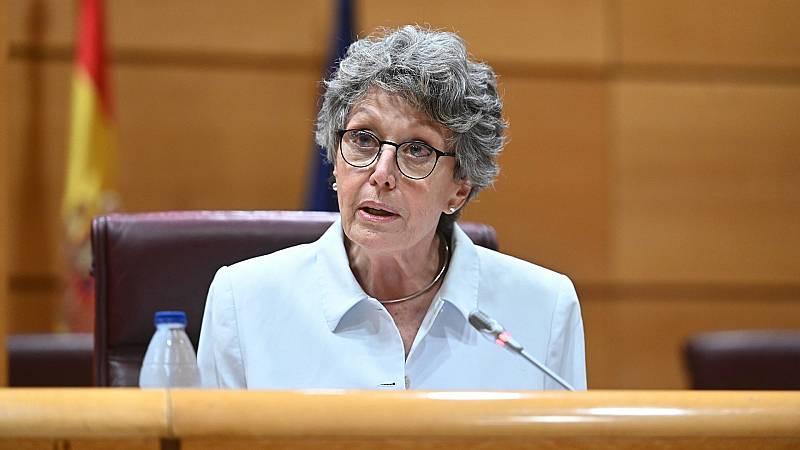 Rosa María Mateo comparece ante el Parlamento por última vez para hacer balance de su gestión en RTVE