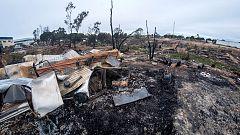 Una semana después del incendio del asentamiento de Huelva sus habitantes denuncian que siguen sin hogar