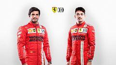 Ferrari presenta su proyecto para 2021 con Sainz y Leclerc
