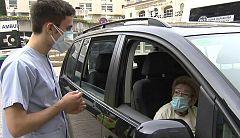 La segunda pandemia de Sabina, una de las centenarias vacunada ya en el País Vasco